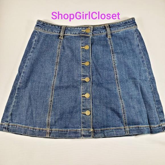 💥Just In💥 BP Jean Button Skirt sz 11